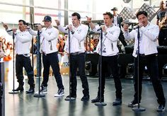 The Right Stuff  New Kids on the Block's Danny Wood, Donnie Wahlberg, Jordan Knight, Jonathan Knight and Joey McIntyre performed on the Today show in New York City May 31.