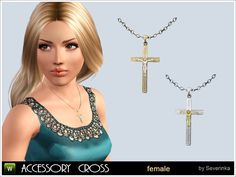 accessory cross sims3