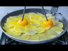 Szokatlanul ízletes falatok egy krumpliból készítve! 10 perc alatt elkészül - YouTube Cantaloupe, The Creator, Pudding, Fruit, Desserts, Youtube, Food, Tv, Potatoes