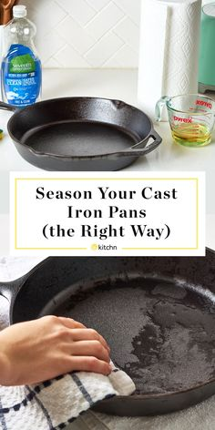 How To Season a Cast Iron Skillet