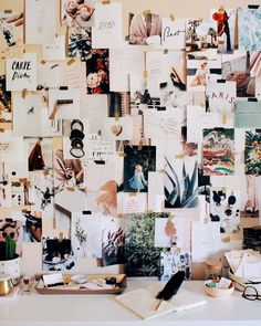 inspiration wall by @afabulousfete on instagram