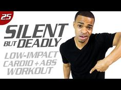 40 Min. Low-Impact Cardio & Core Workout | Silent But Deadly: Day 25 - YouTube
