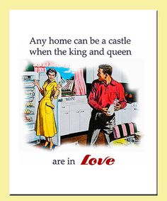 Make the day brighter with this charming retro design. Printed on thick, durable paper, this high-quality artwork adds rich color and a touch of romance to any room in the house.Available in multiple sizesPaperMade in the USA