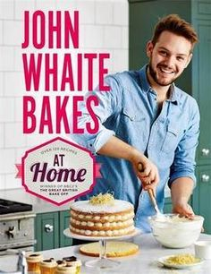 "Read ""John Whaite Bakes At Home"" by John Whaite available from Rakuten Kobo. John Whaite, winner of the 2012 Great British Bake Off, bakes everywhere he goes - at food festivals, as a guest on the . British Bake Off Winners, Great British Bake Off, Bake Off Contestants, John Whaite, Baker And Cook, Best Cookbooks, Gbbo, British Baking, Cookery Books"