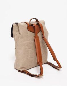 M/S Backpack in Linen