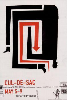 Dave Plunkert (USA, 1965-) – Affiche pour un théâtre