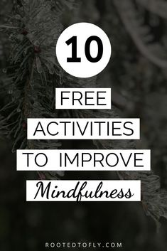 Mindfulness can be hard. Here are 10 free activities to help improve being mindful! Mindfulness Activities, Mindfulness Quotes, Mindfulness Meditation, Guided Meditation, Positive Attitude, Positive Mindset, Mindfulness Techniques, Thing 1, Meditation For Beginners