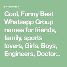 13 best whatsapp group name list images on pinterest whatsapp