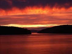 Amazing sunset in Anacortes - cher