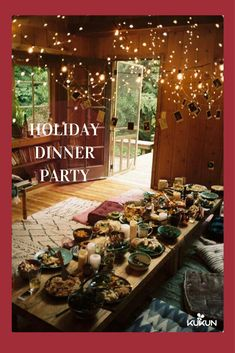 The ulitmate hygge dinner party. Sweet Home, Deco Boheme, House Goals, Cozy House, Cozy Cabin, My Dream Home, New Homes, Tiny Homes, Home And Garden