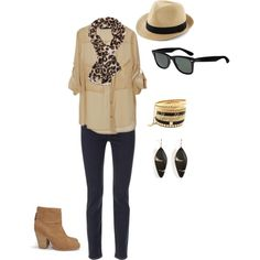 """fall outfit"" by sarabeth0321 on Polyvore"