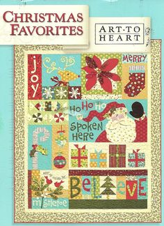 christmas quilt book