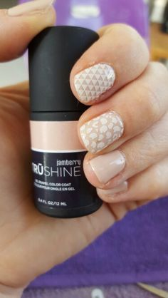 Jamberry Latte TruShine Gel Polish and Leo, Geo and Lace accent nails. Check our my Facebook page www.facebook.com/jamberrywithmistie or mistieh.jamberry.com