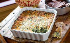 Football Party Food! The No-Fumble Spinach-Artichoke Dip