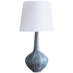 Karlsruhe Ceramic Table Lamp | From a unique collection of antique and modern table lamps at https://www.1stdibs.com/furniture/lighting/table-lamps/