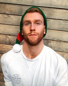 In the spirit of Christmas, Jake Rumble Hot Ginger Men, Ginger Beard, Ginger Hair, Ginger Guys, Beard Styles For Men, Hair And Beard Styles, Hair Styles, Moustache, Hot Guys