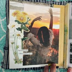 Gluebooking in the journal made. Notebook Collage, Glue Book, My Favorite Image, Magazine Collage, Anxiety, Painting, Journal, Instagram, Spring