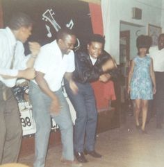 Dance party Oakland, CA 1960s