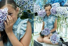 #denim #florals #popular #sisley #musthave #2015 #teen #young #girl #style #fashion