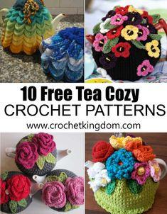 10 Free Tea Cozy Crochet Patterns You'll Love
