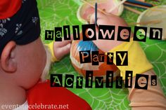 Halloween Party Acitivities - 16 that are really fun and simple to put together for any size group!