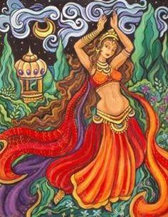 Dança do Ventre - Dança do sagrado feminino