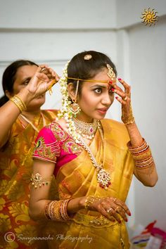 South indian traditional telugu bride