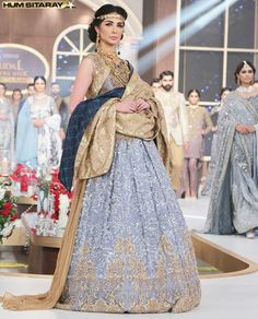 a411a28528a2 HSY New Bridal Collection 2017 Wedding Lehenga and Maxi Dresses