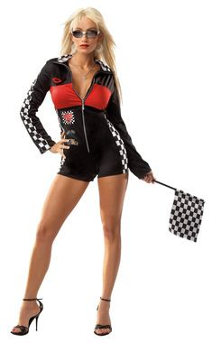 Racer Girl Sexy