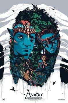 Avatar by Conrado Salinas - Home of the Alternative Movie Poster -AMP-