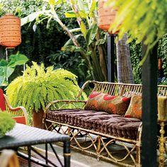 A backyard tropical sanctuary