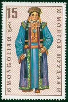 Stamps from Mongolia