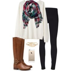 Fall preppy outfit by perfectlypreppy15 on Polyvore featuring polyvore, fashion, style, Vanessa Bruno Athé, Helmut Lang, Tory Burch and Abercrombie & Fitch