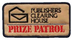 The Prize Patrol patch!