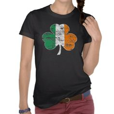 It's the very popular Irish Flag Shamrock Distressed T-shirt!  An awesome shirt for Saint Patrick's Day parties, or a great gift for ANY occasion!