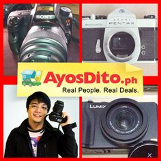 Over Ayos buyers are looking for pre-loved cameras on AyosDito. Sell yours now. Luhan Exo, Cameras For Sale, Real People, Philippines, Gadgets, Gadget