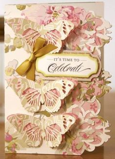 cricut anna griffin   Card made from Anna Griffin's Cricut Soirees and Camilla paper ...