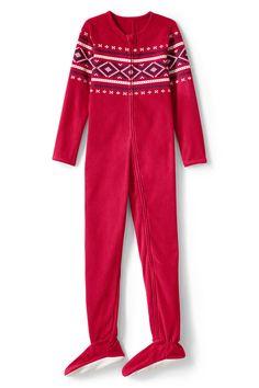 70bac9b36e New Boys  Fleece Footed Pajama Blanket Sleeper Footie Rich Red 10 14 16 18
