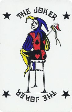 Joker of the Day Joker Playing Card, Joker Card, Unique Playing Cards, Jokers Wild, Pierrot, Aesthetic Themes, Doodle Drawings, Weird World, Weird And Wonderful