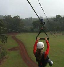 Piiholo Ranch Zipline 4 Line Zip