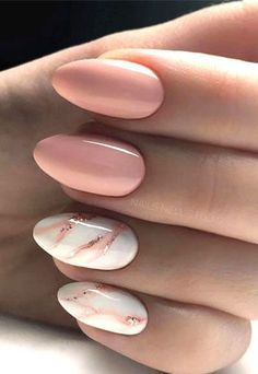 145 Beautiful marble nails - design ideas to try .- 145 Beautiful marble nails – design ideas to try at home See EVERYTHING at Lovika – it ideas - Marble Nail Designs, Acrylic Nail Designs, Nail Art Designs, Navy Nail Designs, Cute Summer Nail Designs, Ongles Rose Pastel, Pastel Pink, Water Marble Nail Art, How To Marble Nails