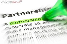 """""""The greatest change in the way business is being conducted - may be the accelerated growth of relationships based on partnership."""" - Peter F. Drucker  #corporatealliance"""