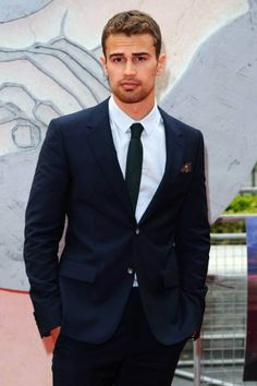 The world would seriously be a better place if there were theo James' running around all over...just sayin