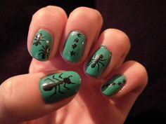 Garden Ant Nails