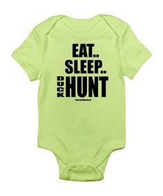 It's never too early for little ones to start rocking camo. Help get them started with this cozy baby basic. A lap neck and snaps on bottom make mid-hunt changes a breeze, while the soft cotton construction ensures easy clean-up.