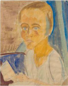 Erich Heckel (1883-1970),Duits expressionistisch schilder, tekenaar en graficus. Hij studeerde eerst architectuur en legde zich pas later toe op de schilderkunst, mede onder invloed van Kirchner en Schmidt-Rottluff, met wie hij in 1905 de avant-gardistische groep die Brücke stichtte. Hij werkte in de eerste jaren vooral met Kirchner en Bleyl samen. Zij deelden een atelier en schilderden dezelfde modellen.