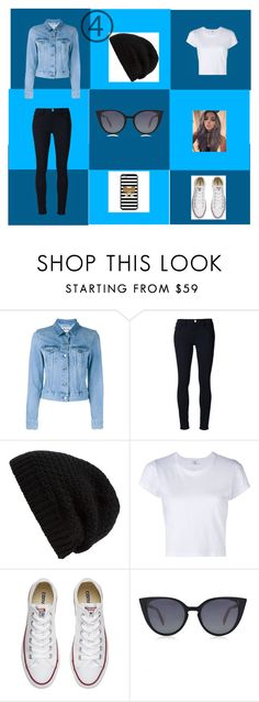 """""""Sin título #151"""" by accp06 ❤ liked on Polyvore featuring Acne Studios, Frame Denim, Rick Owens, RE/DONE, Converse and Fendi"""