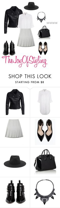 """""""Sunny Days in December"""" by thejoyofstyling on Polyvore featuring New Look, Monsoon, Ksenia Schnaider, Zara, rag & bone, Givenchy, Tabitha Simmons and Maison Margiela"""