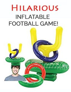 This game is a hilarious game to play at SuperBowl Football Party or a Tailgate Party. One of 20 epic football inspired games. Football Games To Play, Tailgate Games, Football Parties, Tailgate Parties, Tailgating Ideas, Football Birthday, Outdoor Games To Play, Backyard Games, Activity Games