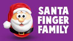 The Finger Family Santa Claus Family Nursery Rhyme | Merry Christmas